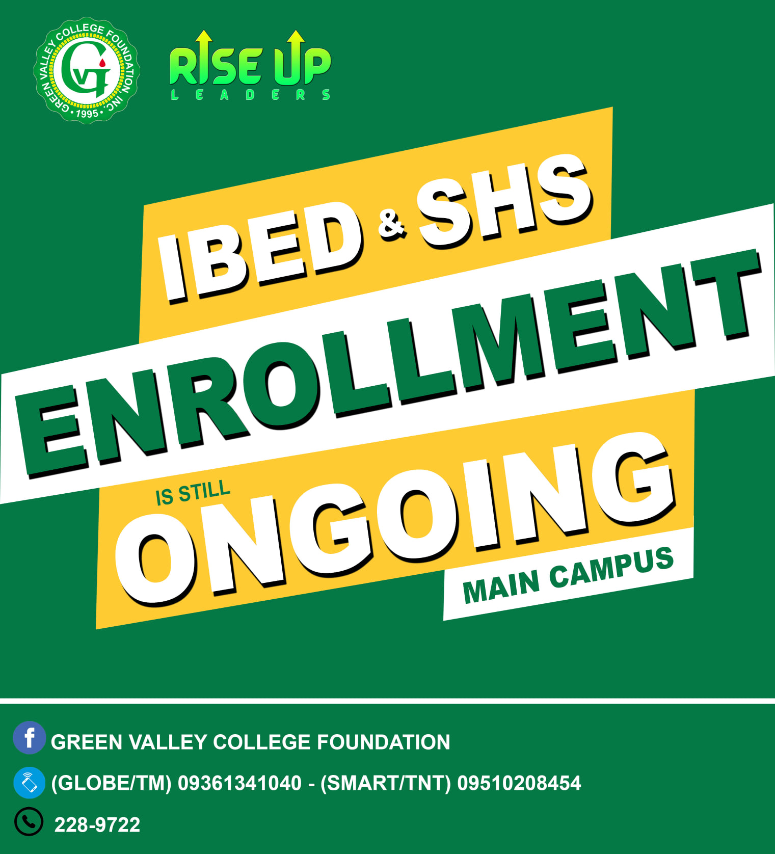 IBEd Enrollment is still ongoing
